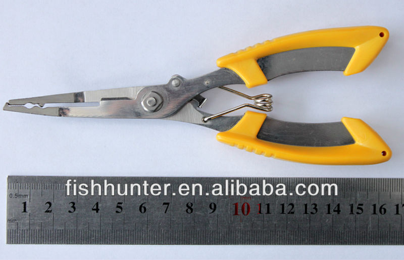 fishing tool wholeasle pliers weihai fishing tackle <strong>G08</strong>-Y01-1plier fishing tool