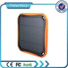 2 usb solar power bank 5600 mAh for mobile phone