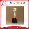 Wholesale cheap polyresin abstract trophy for sale