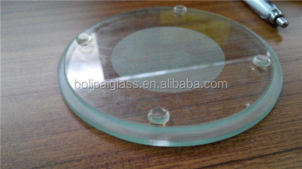 Heat proof light cover glass