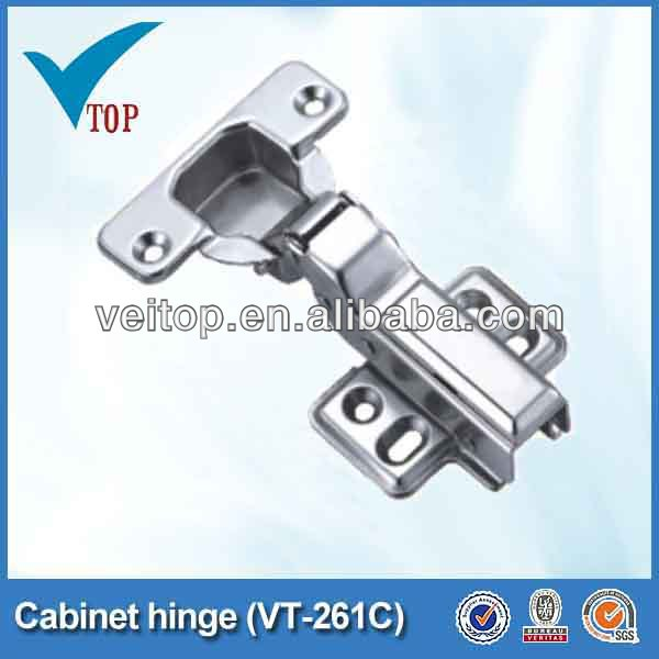 Iron furniture cabinet slot hinge