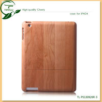 Brand new wood material Can be split up and down cover case for ipad wholesale