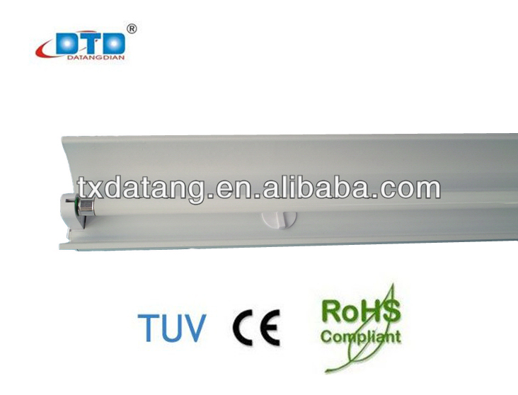 14w 28w 24w 54w lighting fixture T5 fluorescent lighting fixture with big cover