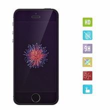 hd 2.5d tempered glass flim screen protector glass for iphone 5