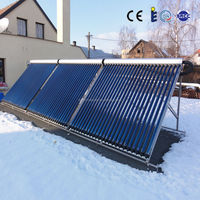 swimming pool heating evacuated tube solar collector