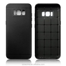 Honeycomb Mesh TPU phone Case for sumsung S8 rubber bumper Phone case