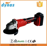 18V Power tools 1500mAh li-ion battery 115mm cordless DC angle grinder