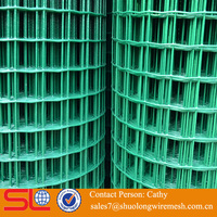10x10 high quality pvc coated rebar welded wire mesh panel