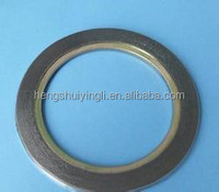Tension brand pump adapter spiral wound gasket seals