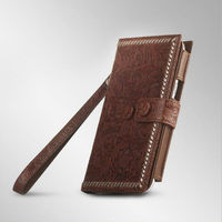 classical wallet leather pouch flip cover for Samgsung Galaxy Note 2 N7100 hot sale flip leather case
