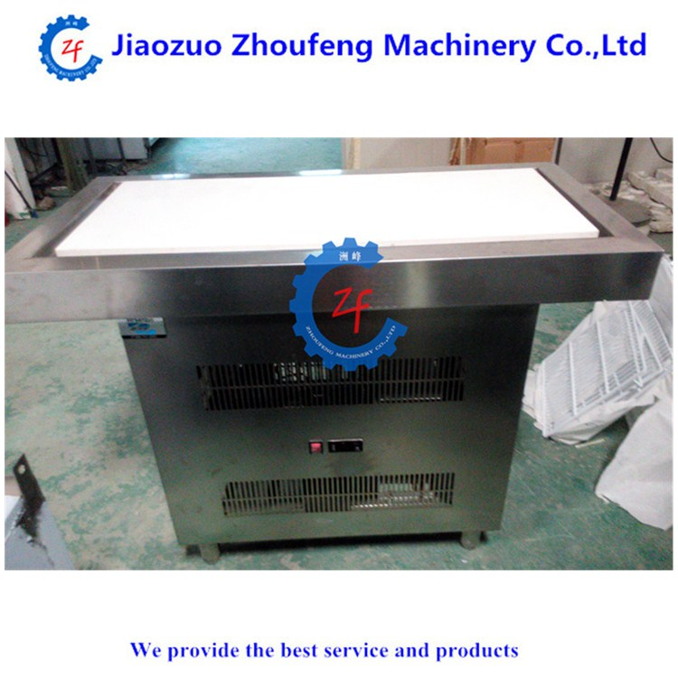 New marble cold stone fired frying ice cream machine (skype:wendyzf1)