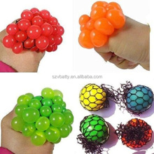 Adult's Children and Magic Squeeze Grape Soft Rubber Anti Stress Toy Stress Relief Toys Christmas Gift Magic Ball as Trick Vent