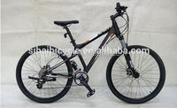 "26"" suspension aluminum mountain bike/bicycle with alloy rims"