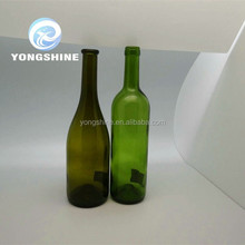 750ml glass wine bottle,bottle of red wine ,beer bottle