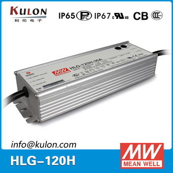 MEAN WELL POWER SUPPLY HLG-120H-C350A single output 350mA Led Driver
