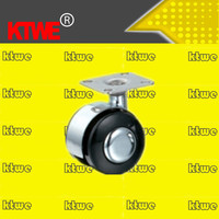 KTWE heavy duty swivel apparatus PU wheel castor