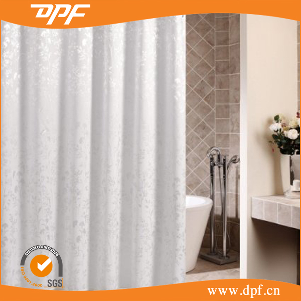 Fancy EVA polyester Eco-friendly shower Curtain for sale