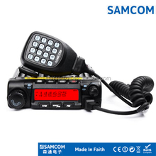 NEWEST!!! SAMCOM 50W/40W dual band vhf&uhf mobile radio AM-400UV with 2/5 tones,1750Hz burst tone,DTMF,scrambler,FCC approval