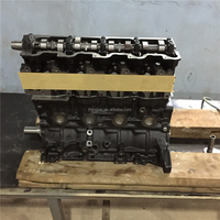 toyota diesel engine 2L2 long block HB fit for hiace hilux