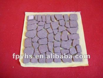 Beautiful Pebble Tile For Road Paving