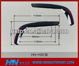 HIGH QUALITY MERCEDES BENZ BUS MIRROR MERCEDES BENZ BUS SIDE MIRROR MERCEDES BENZ BUS REARVIEW MIRROR