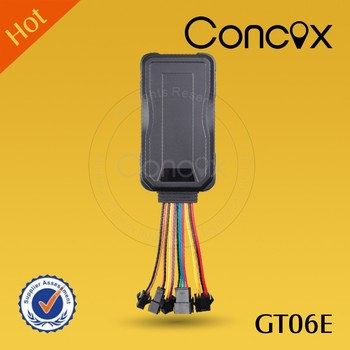 CONCOX GT06E car gps alarm systems Motorbike 3G gps tracking device Fleet tracking