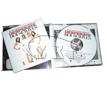 Brochure Printing with CD Replication Packing in CD Case