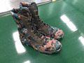 2017 new arrival tropical weather digital camouflage canvas upper jungle boots