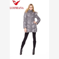 feather dress women down coat