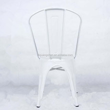 Modern style white metal vintage commercial <strong>furniture</strong> stacking chairs for banquet restaurant
