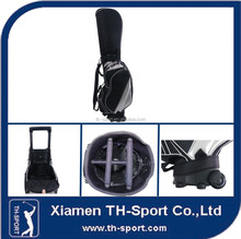 popular sale OEM leather staff golf bag