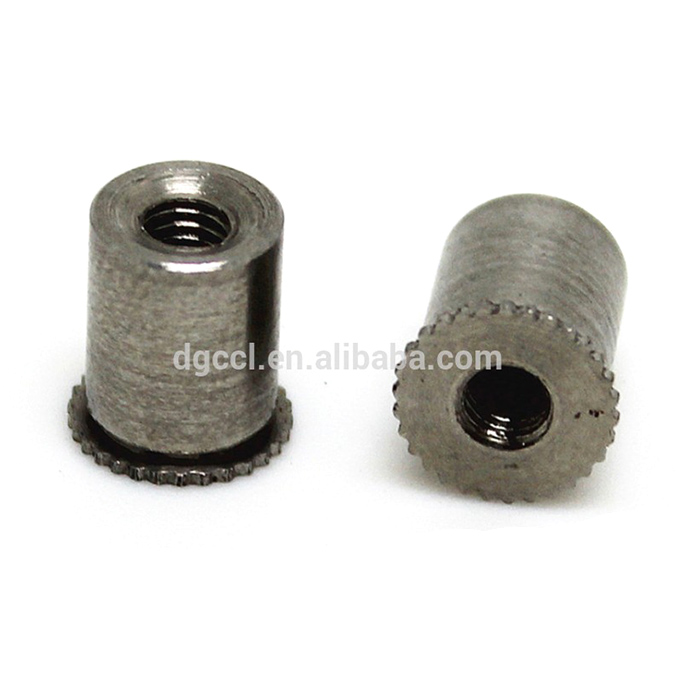China fasteners Stainless steel hollow self clinching stud standoff in stock