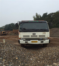 Used Nissan V8 340hp dump truck used condition hino Nissan shacman Howo 25t 40t tipper for sale