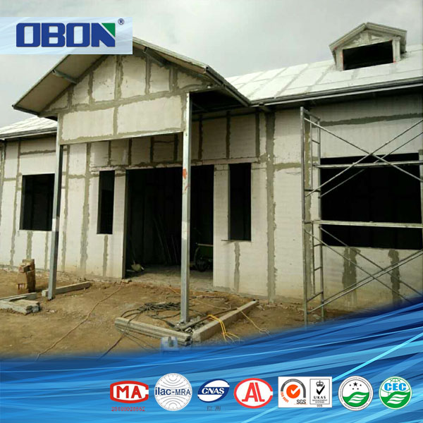 OBON Manufacturers Hot Sell Fireproof Cement Steel Shed Prefab House