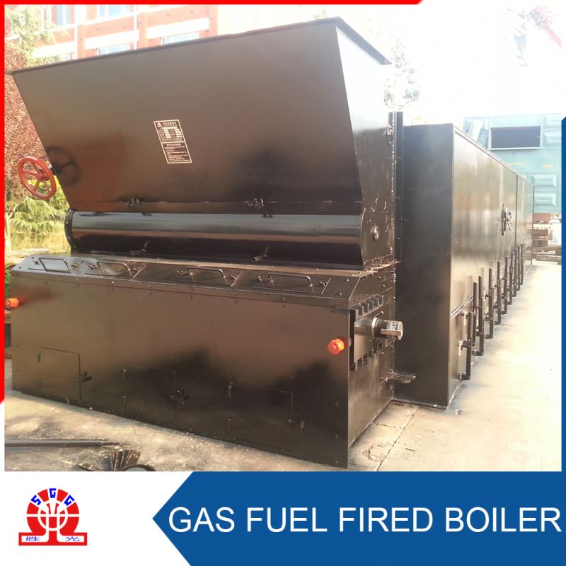 Timber Industry Waste Fuel Hot Oil Gas Steam Boiler