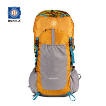 Custom big capacity mountaineering bagpack for outdoor hiking made of durable polyester hiking bag