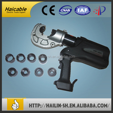 battery powered resource electro hydraulic Auto ribbon cable crimping tool USA manufactureing company EMT-400C