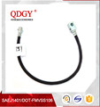 dot SAE J1401 fmvss106 approved car OEM brake hose assembly with M10X1 end fitting