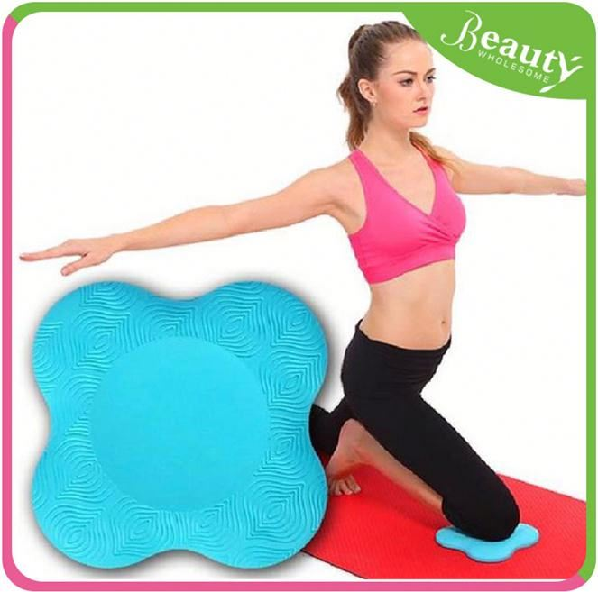 Pure color knee pad 'yn4p silicone yoga pad