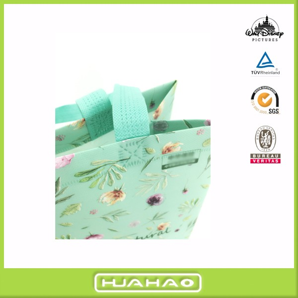 automatic stereo custom cheap nonwoven bag