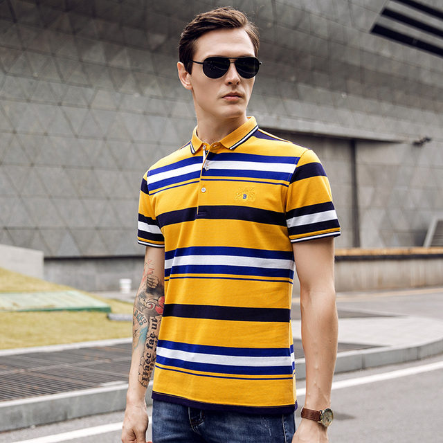 Most Popular Color Casual Men Dri Fit Polo T-Shirts Wholesale