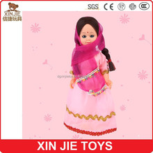 wholesale India plastic girl doll hot selling plastic doll stock plastic india doll