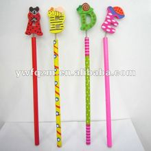 cartoon English alphabet pencil for promotion
