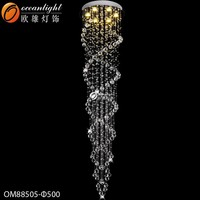 oval doublle cross whip crystal mouse tail lamp,captiva tail lamp OM88505-500