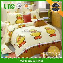 cartoon character bedding/sexy bedding sets for adults/photo print bed sheet