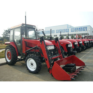 JM-604 60hp 4wd farm tractor with front loader
