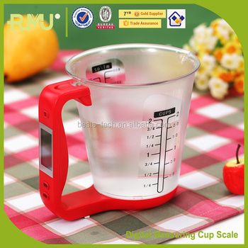 2015 Digital Measuring Cup new Electronic Scale Digtial Scale For Cooking