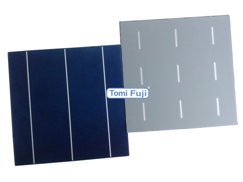 6 inch high efficiency cheap price pv silicon solar cell made in Taiwan
