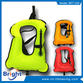 adult inflatable diving snorkel vest