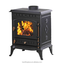 outdoor cast iron wood stove